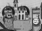 famiglia Addams doodle oggi