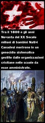Genocidio cattolico dei nativi americani in Canada