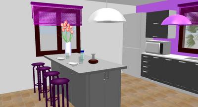 Disegna cucina 3d fabulous great un software gratuito per for Log home planimetrie