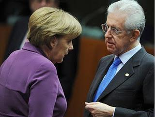 In ginocchio da te: Monti implora la Merkel