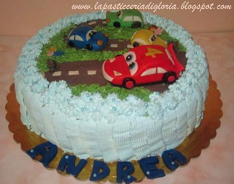 Torta Decorata Ispirata A Cars Paperblog