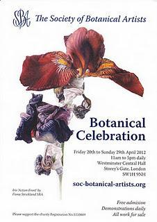 The Society of Botanical Artists  2012 Annual Exhibition
