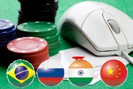 I paesi BRIC, ottimo potenziale di mercato per i casino online