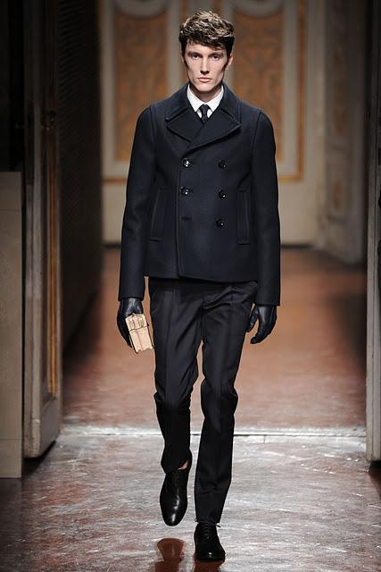 Pitti Uomo: Valentino Men Fall/Winter 2012-13