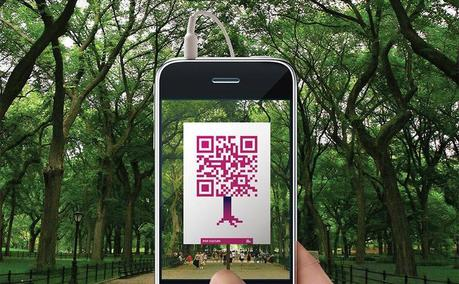 Riscopri Central Park con i QR Code. Marketing Turistico & Geek Advertising