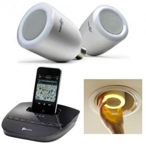 Audiobulb wireless speaker lampade o casse paperblog - Filodiffusione casa wireless ...