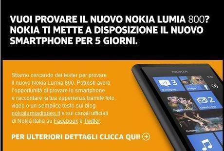 Nokia Lumia Diaries: Riaprono le selezioni per diventare Nokia Tester!