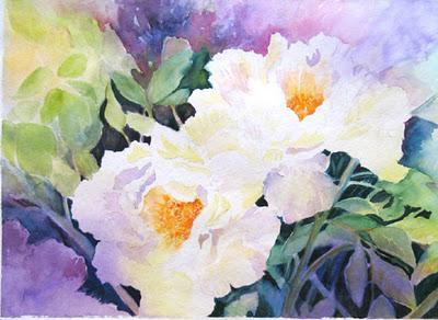 Dipingere fiori ad acquarello libri tradotti in italiano for Immagini di fiori dipinti