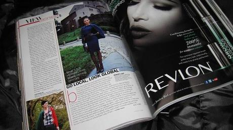 Vogue USA December…. It arrived very late!