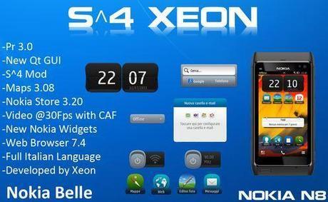 Custom Firmware: S^4 Xeon 2.4.1 per Nokia N8
