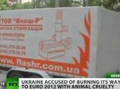 kiev, prepara europei calcio Ucraina Polonia 2012 strage cani randagi bruciandoli forni crematori mobili,