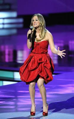 Kaley Cuoco is your host at PCA!