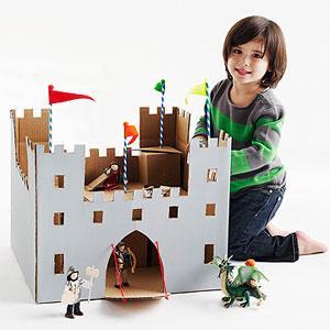 Da scatole di cartone a giocattoli per bambini - Paperblog