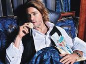 Brad Pitt Magazine Mario Sorrenti