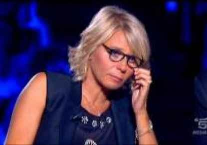 MARIA DE FILIPPI PIANGE A ITALIA'S GOT TALENT