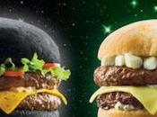 L'hamburger Darth Vader. Hamburger nero come Morte Nera