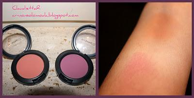 I miei Blush* : MAC Peaches e MAC Coygirl
