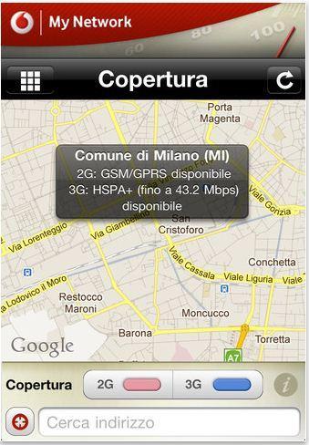 Da Vodafone la app My Network per iOS e Android, verifica e segnala la copertura della rete