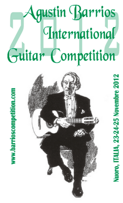 Agustin Barrios International Guitar Competition 2012