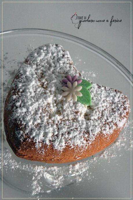 Un soffice cuore: Torta Paradiso. - Paperblog