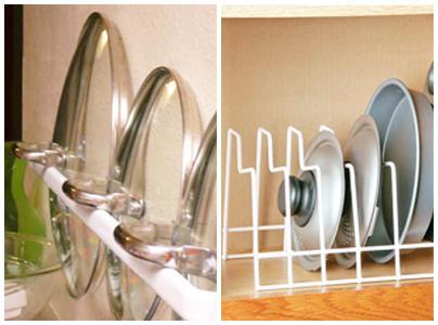 Come organizzare pentole e coperchi in cucina paperblog - Come organizzare la cucina ...