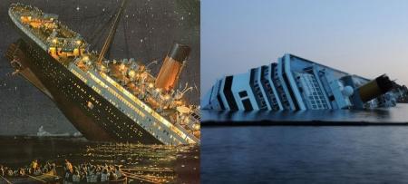 """Post naufragio Costa Concordia: il """"Titanic"""" di James Cameron va a ruba nei videonoleggi.  Italiani, popolo di cine-morbosi…"""