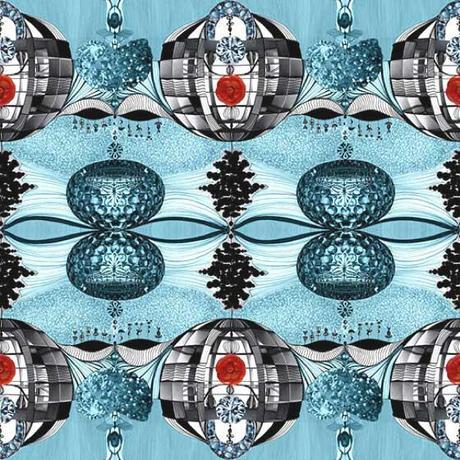 Stampe e patterns per tessuti caleidoscopici da pappenpop for Ka international tessuti arredamento