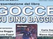 """Dino Baggio presenta Marchi"""" biografia, Pizzul moderatore"""