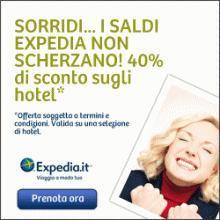 Expedia: codici sconto 10% e 20% + tariffe speciali