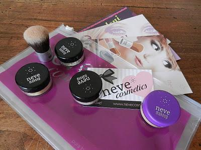 First Neve Cosmetics review