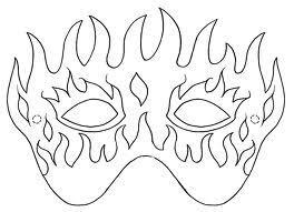 Maschere Di Carnevale Da Colorare E Ritagliare Paperblog