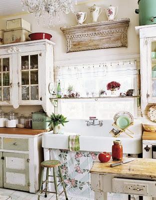 Cucine shabby chic e provenzali paperblog - Cucine stile francese ...