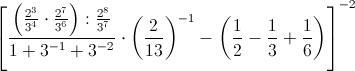 Esempio di espressione aritmetica con esponenti negativi nell 39 insieme numerico q paperblog - Addizionare e sottrarre frazioni con denominatori diversi ...