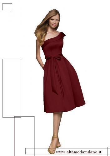 fcdef4a3aa25 Le spose di milano NOVIAS romantici abiti da sposa colorati rosso lilla e  rosa antico