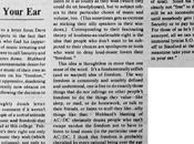 """""""Take your speakers, stick them ear"""": lettera David Foster Wallace"""