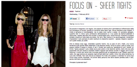 Iole x NSS Focus on: Naplestreetstyle