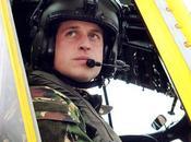 principe William arrivato alle Falklands
