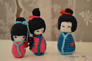 Come fare la kokeshi a crochet: tutorial in italiano