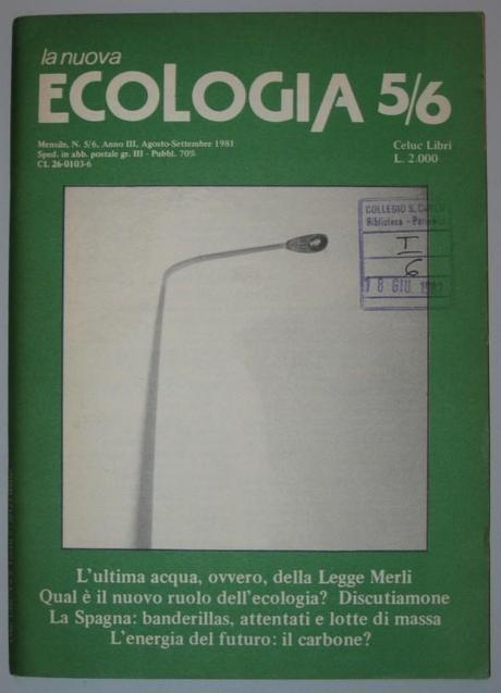 Le origini del movimento ecologista italiano: la nascita di Nuova Ecologia