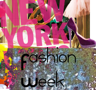 Next stop: New York Fashion Week!