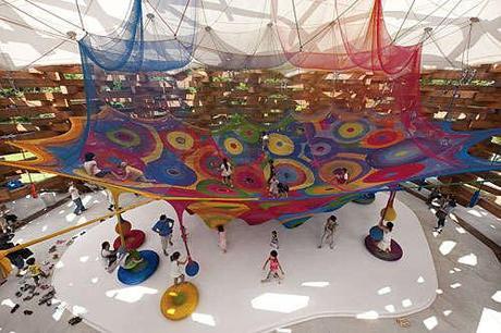 playground crochet art Playground Crochet Artist Toshiko Horiuchi MacAdam