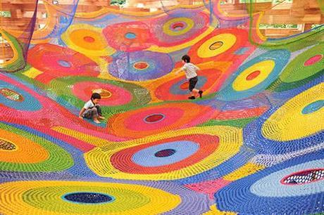 crochet artist horiuchi macadam Playground Crochet Artist Toshiko Horiuchi MacAdam