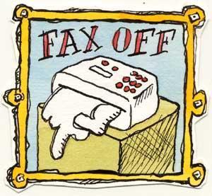 Insultare via fax ed Equitalia