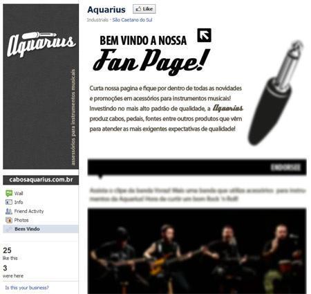 pagine promozionali facebook