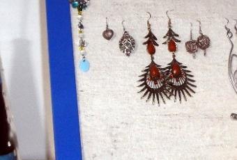 Fai da te cornice porta orecchini paperblog for Porta orecchini fai da te