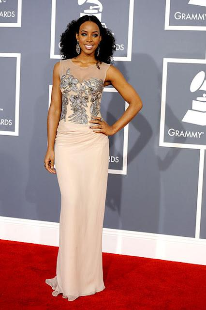 Red Carpet from The Grammy Awards and BAFTA Awards 2012