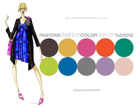 Pantone Fashion Color Report Fall 2012