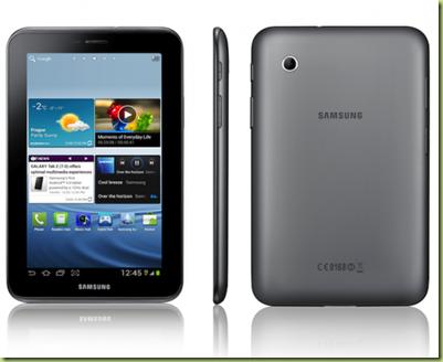 Presentato Nuovo Tablet Samsung Galaxy Tab 2 Con Android 4 Ice Cream S...