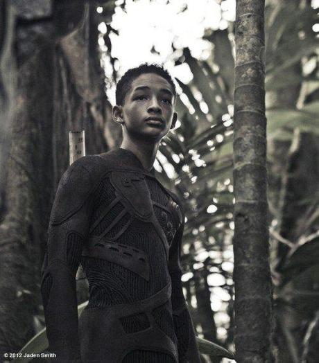 Jaden Smith in una nuova immagine da After Earth