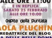 villaggio libri ospite della puntata Paola Pluchino